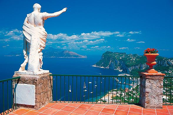 Häämatka paratiisisaari Caprille