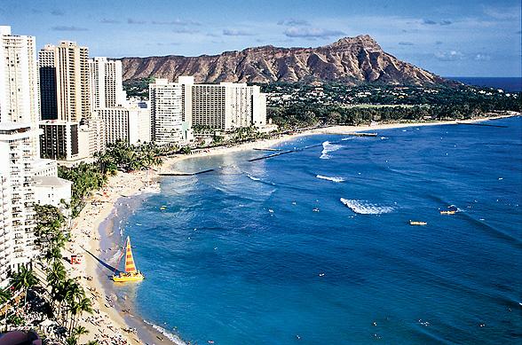 Häämatkalle haaveiden Havaijiille