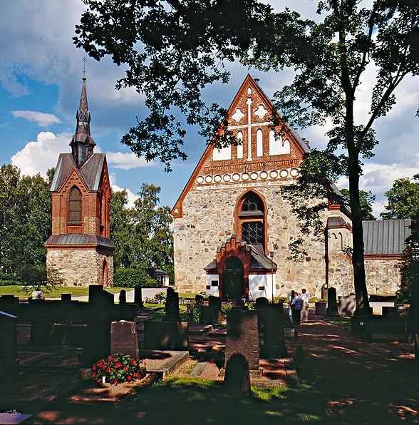 Vihkipaikkatarina: Vantaan Pyhän Laurin kirkko