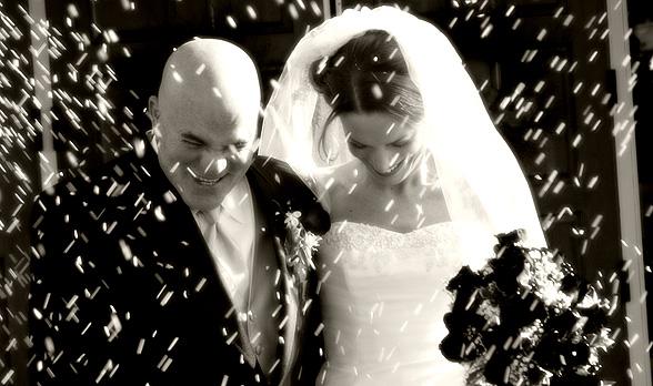 Mitä haluan päällemme heitettävän, kun astumme kirkosta tuoreena avioparina?