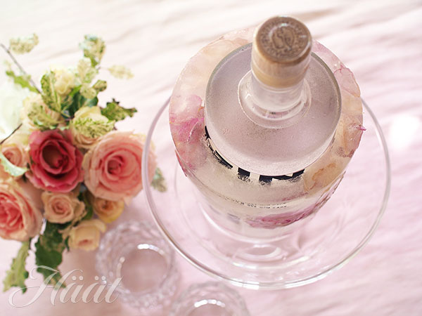 Tee itse romanttinen kukkajääcooleri