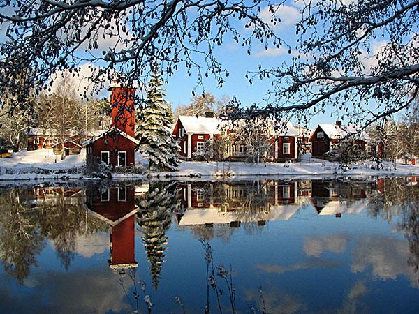Talvihäät hurmaavassa ruukkimiljöössä Noormarkussa
