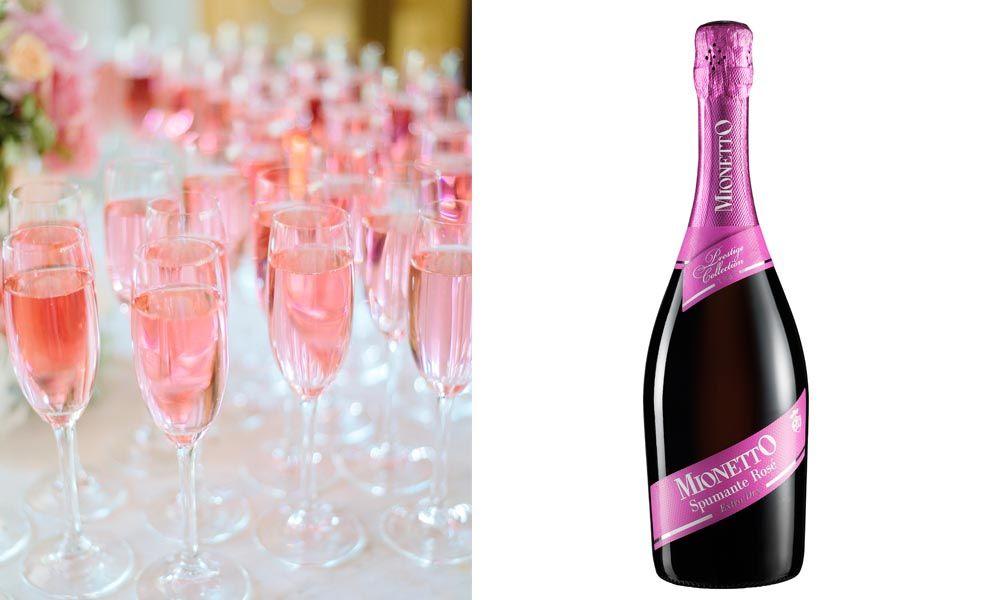 Maljuomaksi sopii täydellisesti rakkauden punainen Rosé-kuohuviini, Mionetto Gran Rosé