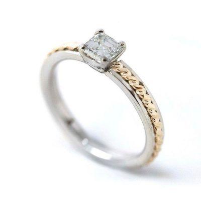 Kultaseppä Viljanen Punottu-sormus