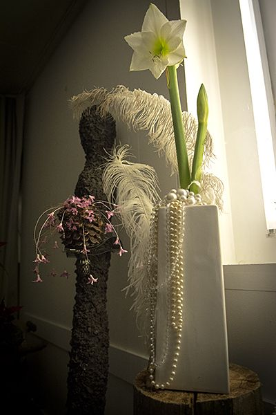 talvihäiden kukkakoristeet sesongin kukista