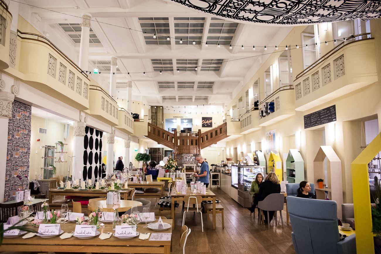 Etelä-Suomen edullisimmat juhlatilat – Bar Köket Cafe