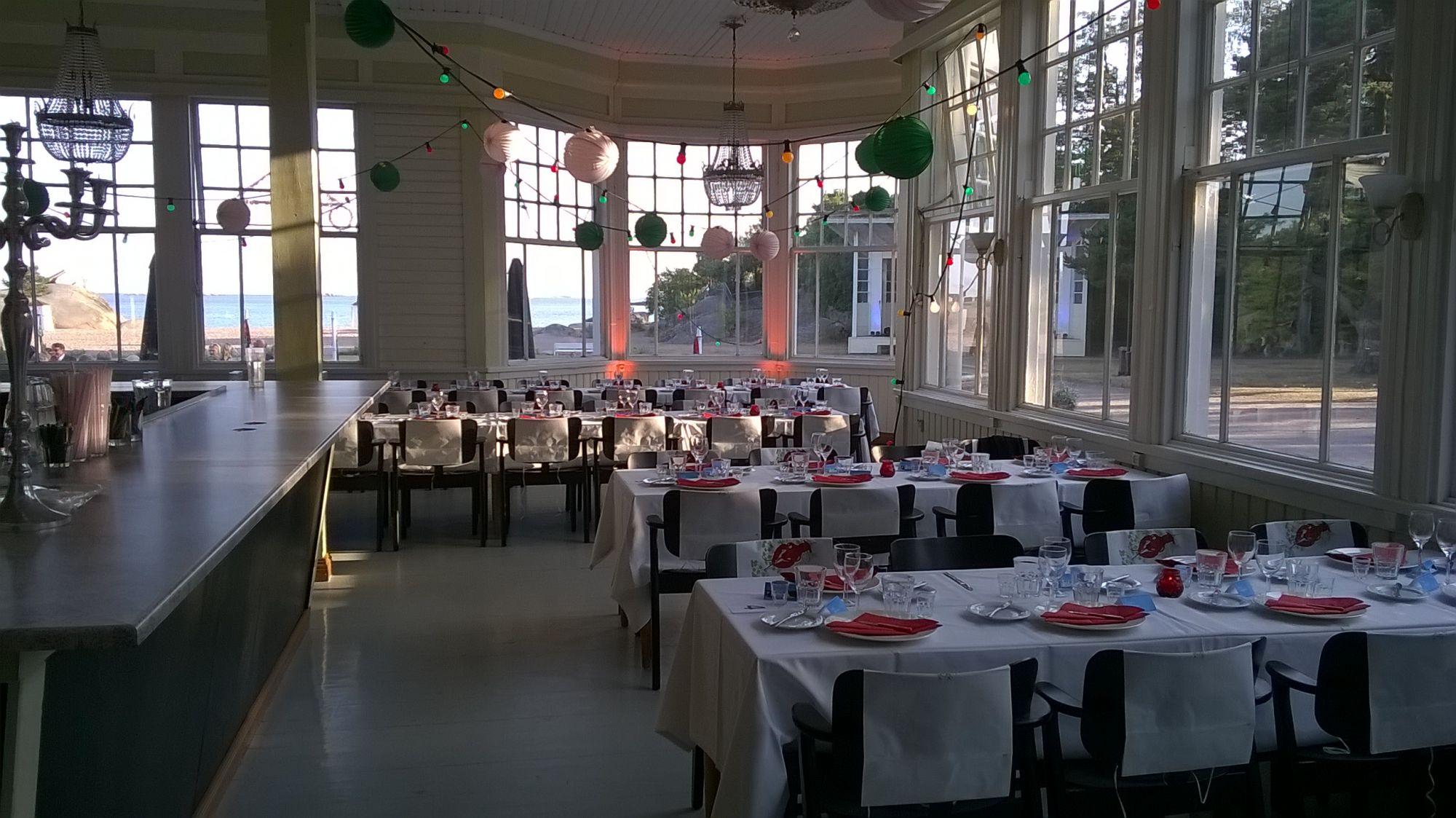 Etelä-Suomen edullisimmat juhlatilat – Hangon Casino