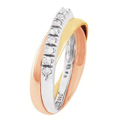 Story of Love timanttisormus 0,15ct W/SI – Kultajousi