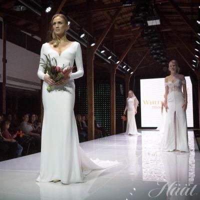 Mennään naimisiin häämessut 2018 - White dress