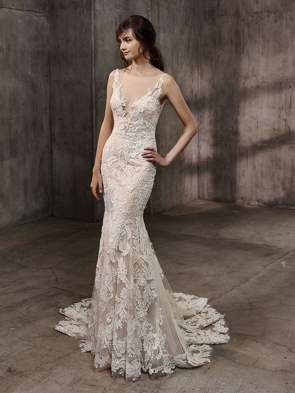 Badgley Mischka Bride Aubree