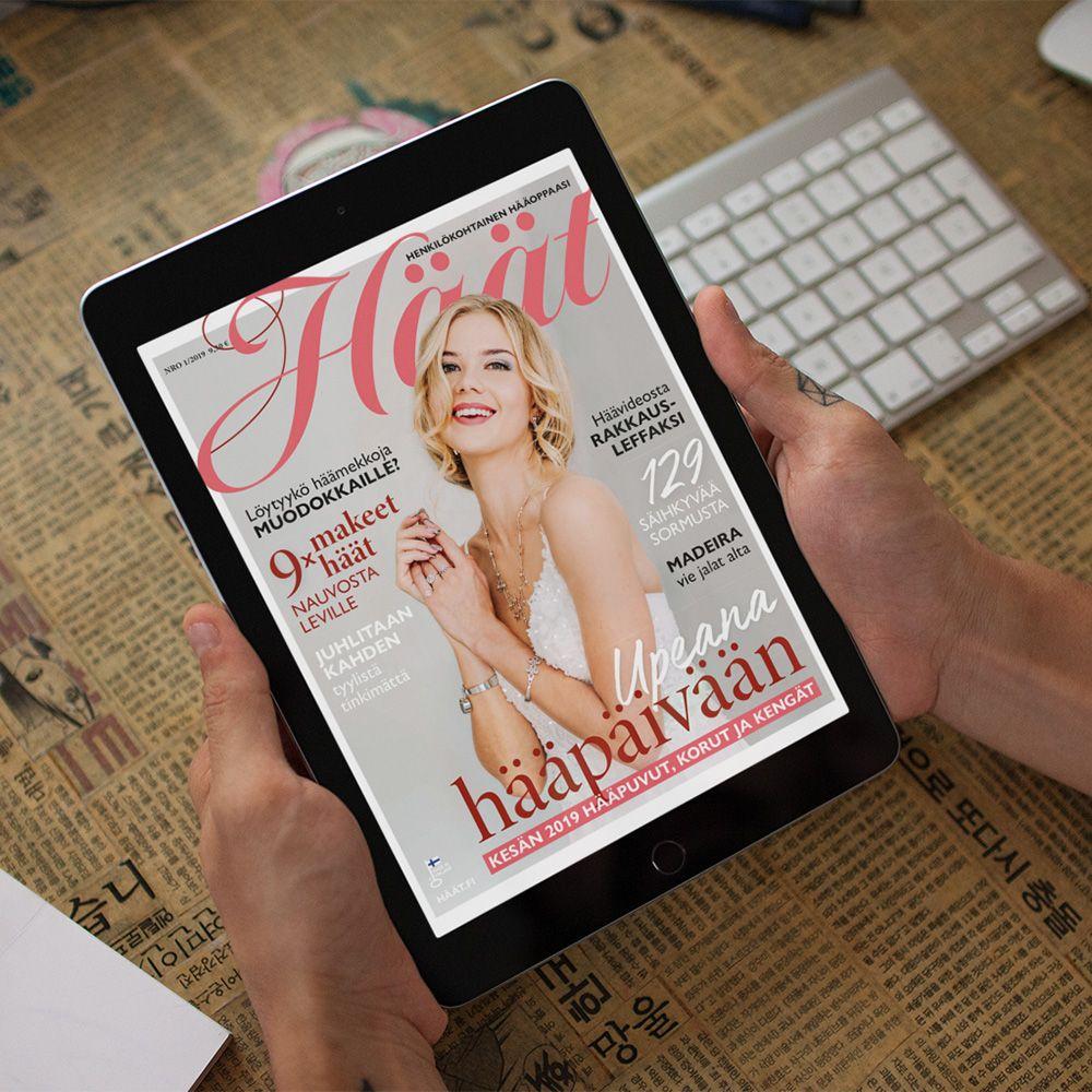 Häät-lehti näköislehtenä Magzterissa