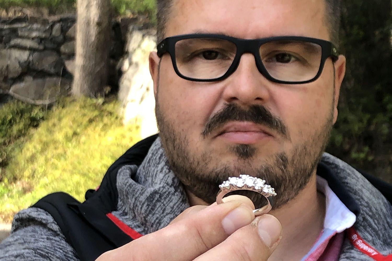 Kristian Saarikorpi  Satumetsä Vuoden Kaunein Sormus 2018 finalisti