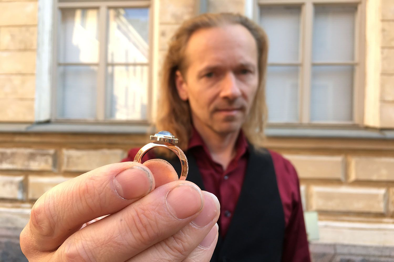 Petri Eklöf Grigio Vuoden Kaunein Sormus 2018 finalisti
