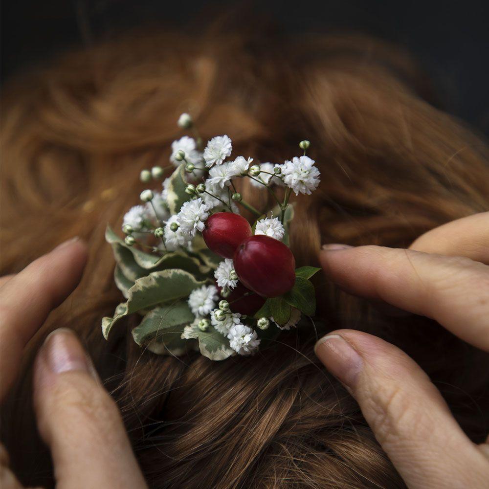 Sido hiuskukka luonnonkukista