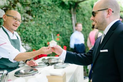 Anni+Arto häät Italiassa gelatokärry