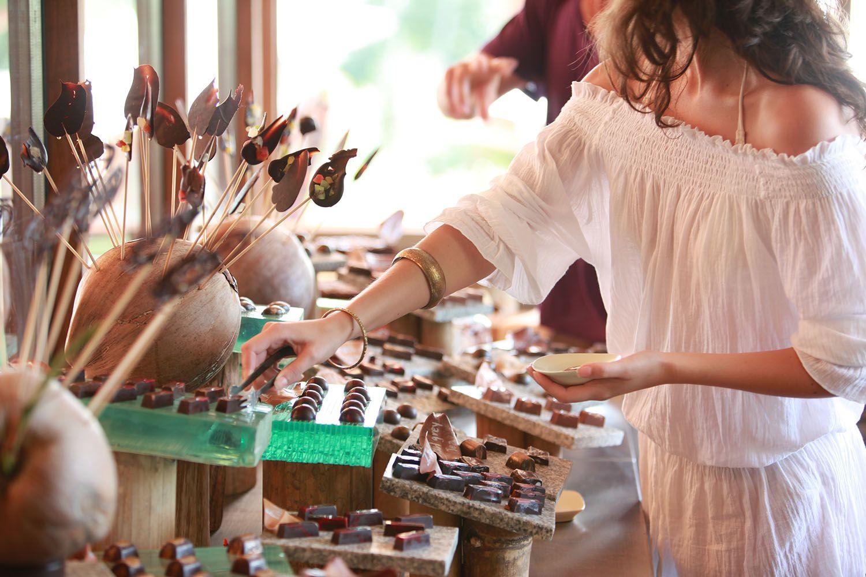 Soneva Kiri Chocolate Room Thaimaa