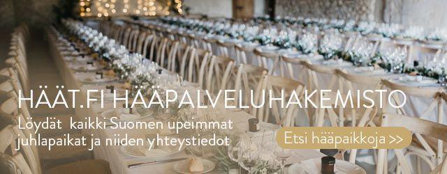 Etsi Häät.fistä Hääpalveluita juhlatilat ja catering