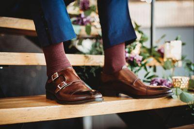 sulhasen sukat ja kengät burgundi