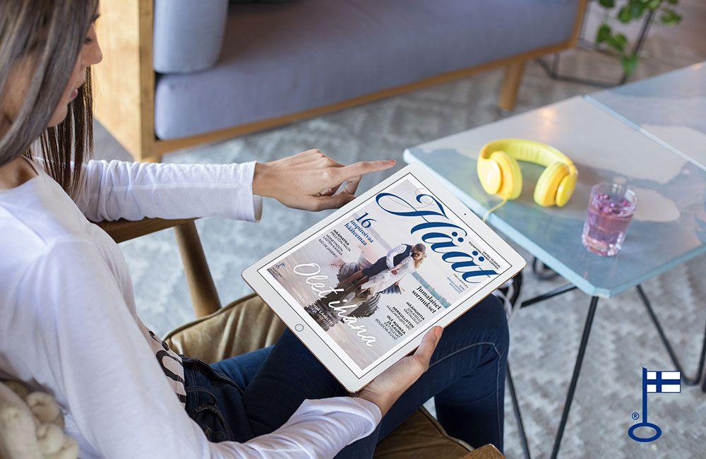 Häät-lehti sähköinen digilehti näköislehti Issuucom
