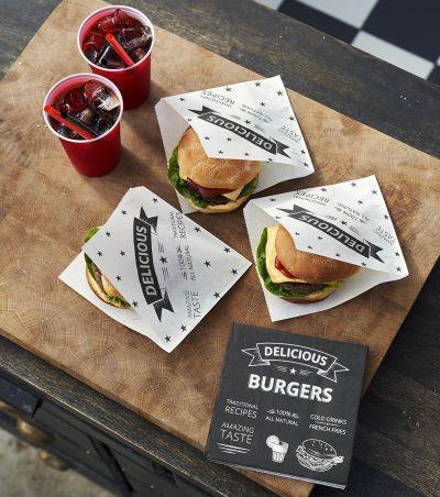 Duni BBQ iltapala burgerit