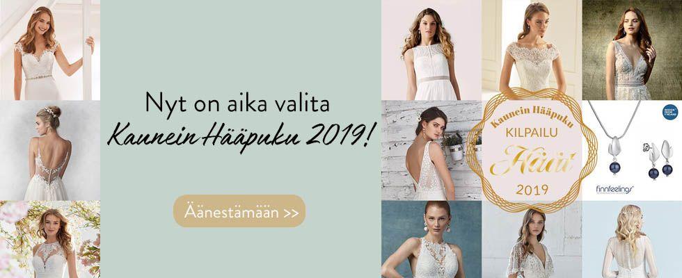 Äänestä Kaunein Hääpuku 2019