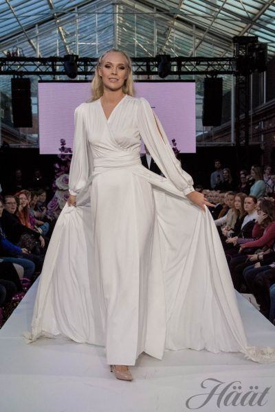 Riikka Couture Mennään nai9isiin -messut 2018