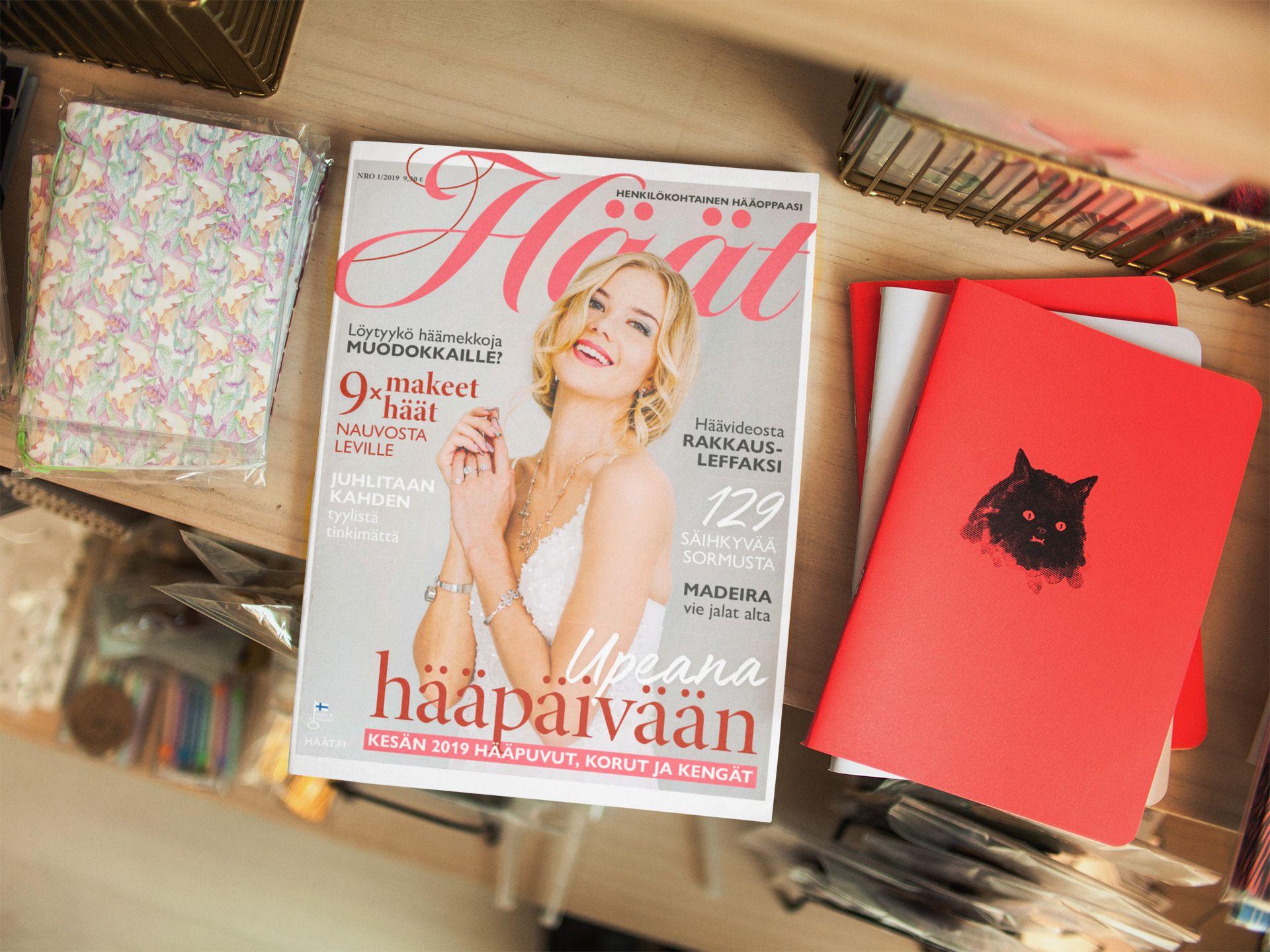 Häät-lehti 1/2019 pöydällä