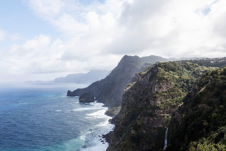 Madeiran korkeuserot ovat huimia
