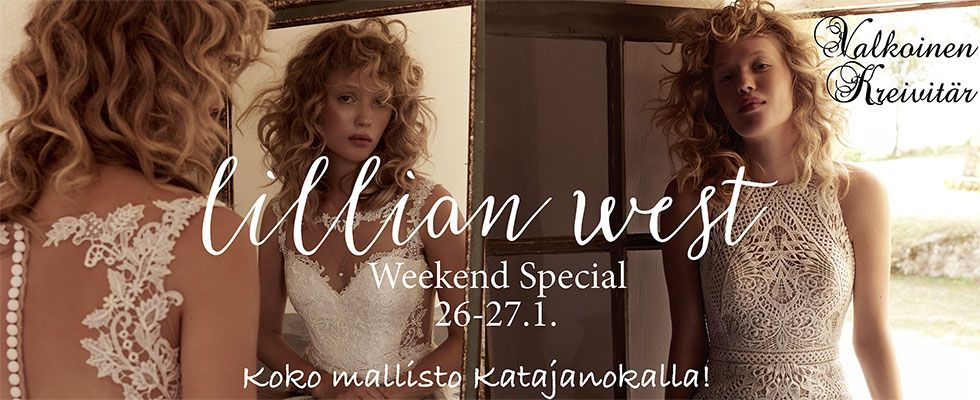 Lillian West Weekend Special Valkoinen kreivitär