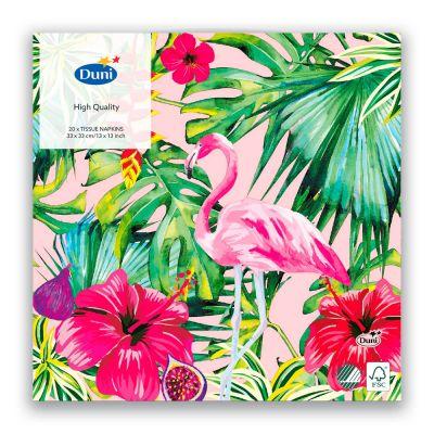 Duni Aloha Floral lautasliina