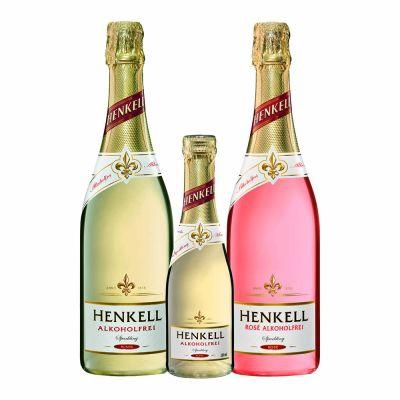 Henkell Alkoholfrei Blanc ja Rose