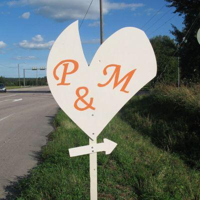 Hääkyltit P ja M