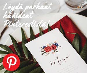 Häät Pinterestistä parhaat hääideat