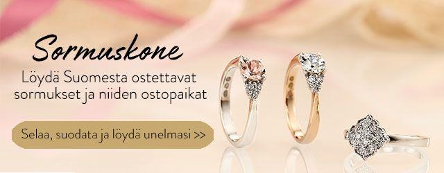 Sormuskone – Löydät Suomesta ostettavat sormukset