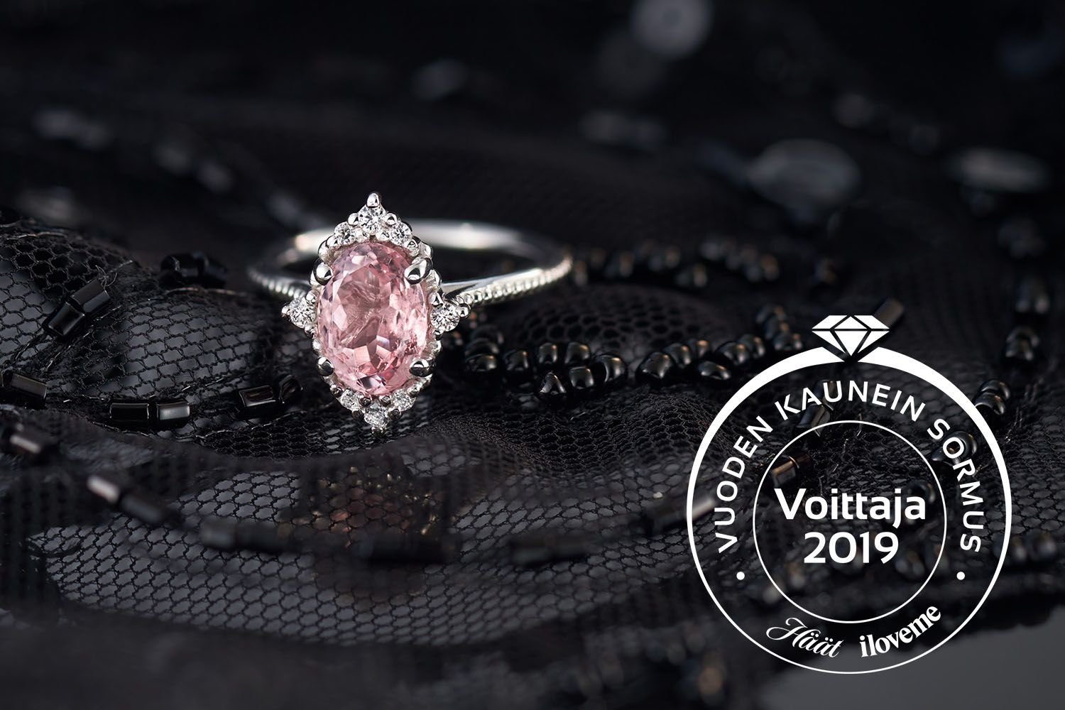 Pretty in Pink - Vuoden Kaunein Sormus 2019 By Laura Darth