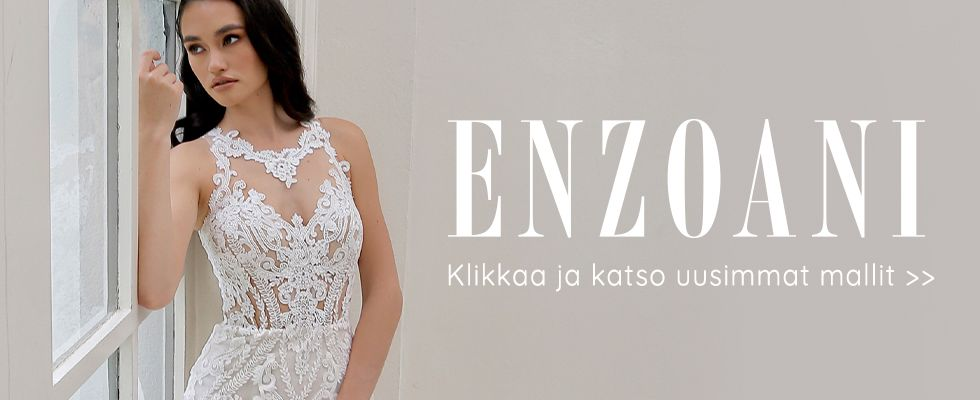 hääpuku Enzoani uusi 2020 mallisto