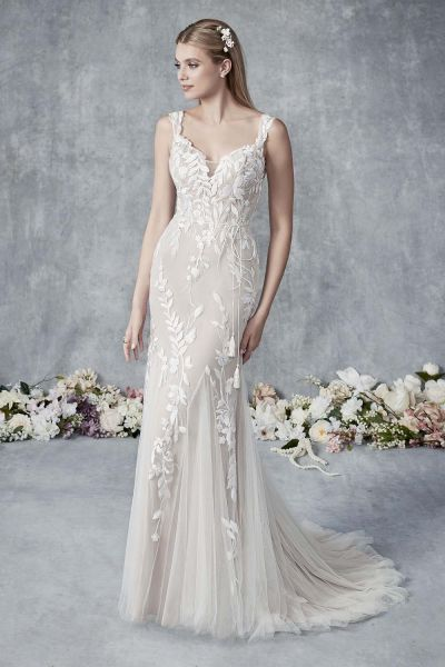 Ella Rosa wedding dress BE510