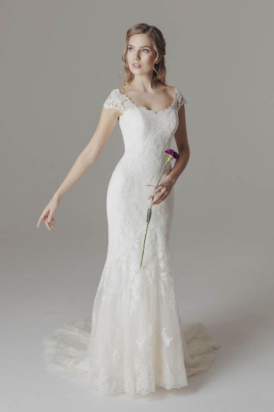 Victoria & Vincent lace wedding dress Kira