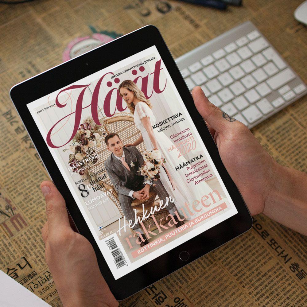 Häät-lehti 2/2019 ilmestyi lokakuussa Issuu-näköislehtenä