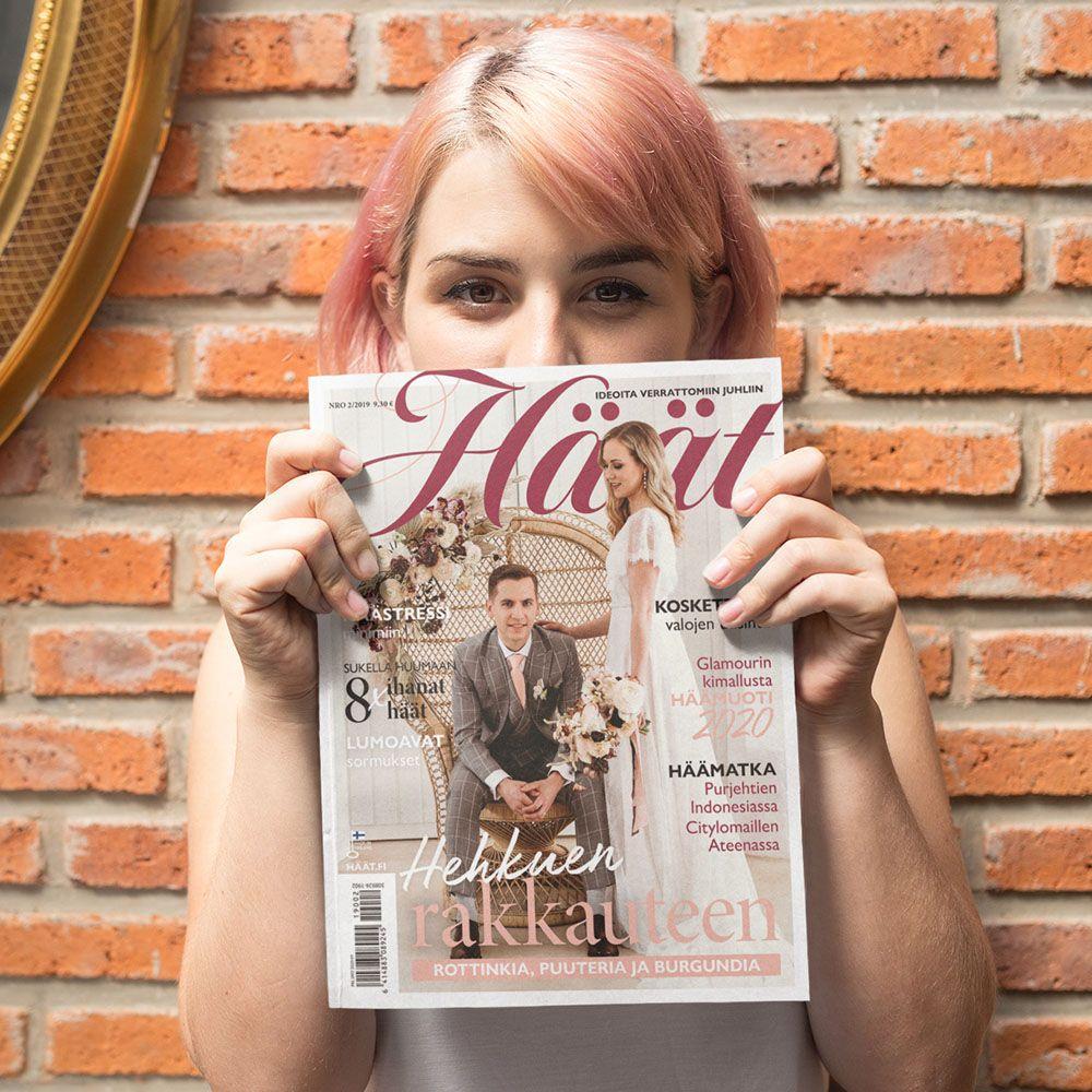 Häät-lehti 2/2019 lokakuu Finnish wedding magazine
