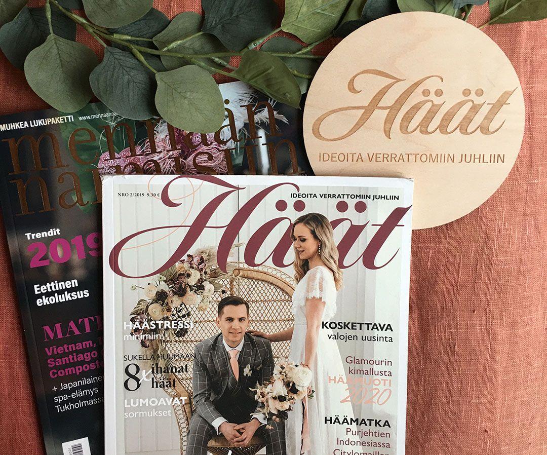 Häät-lehti ja Mennään naimisiin -lehti yhdistyvät 2020