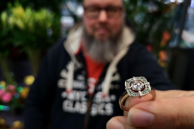 Petri Pulliainen Gala-timanttisormus Vuoden Kaunein Sormus 2019 Finalisti
