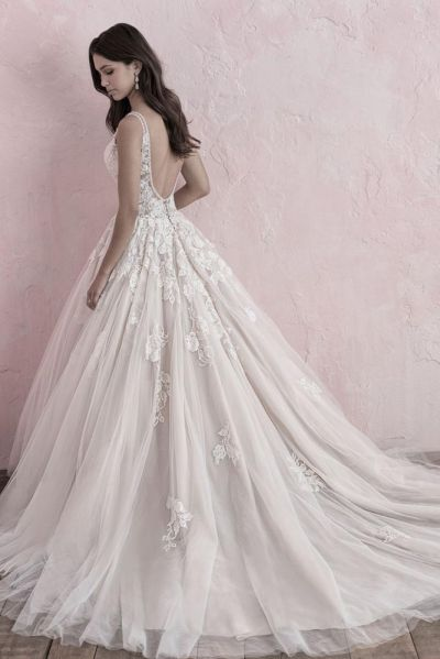 Allure Bridals prinsessa tyllihääpuku 3273