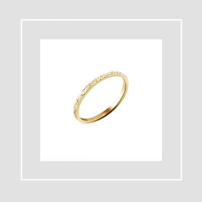 Tammi Jewellery kultainen Sinetti vihkisormus
