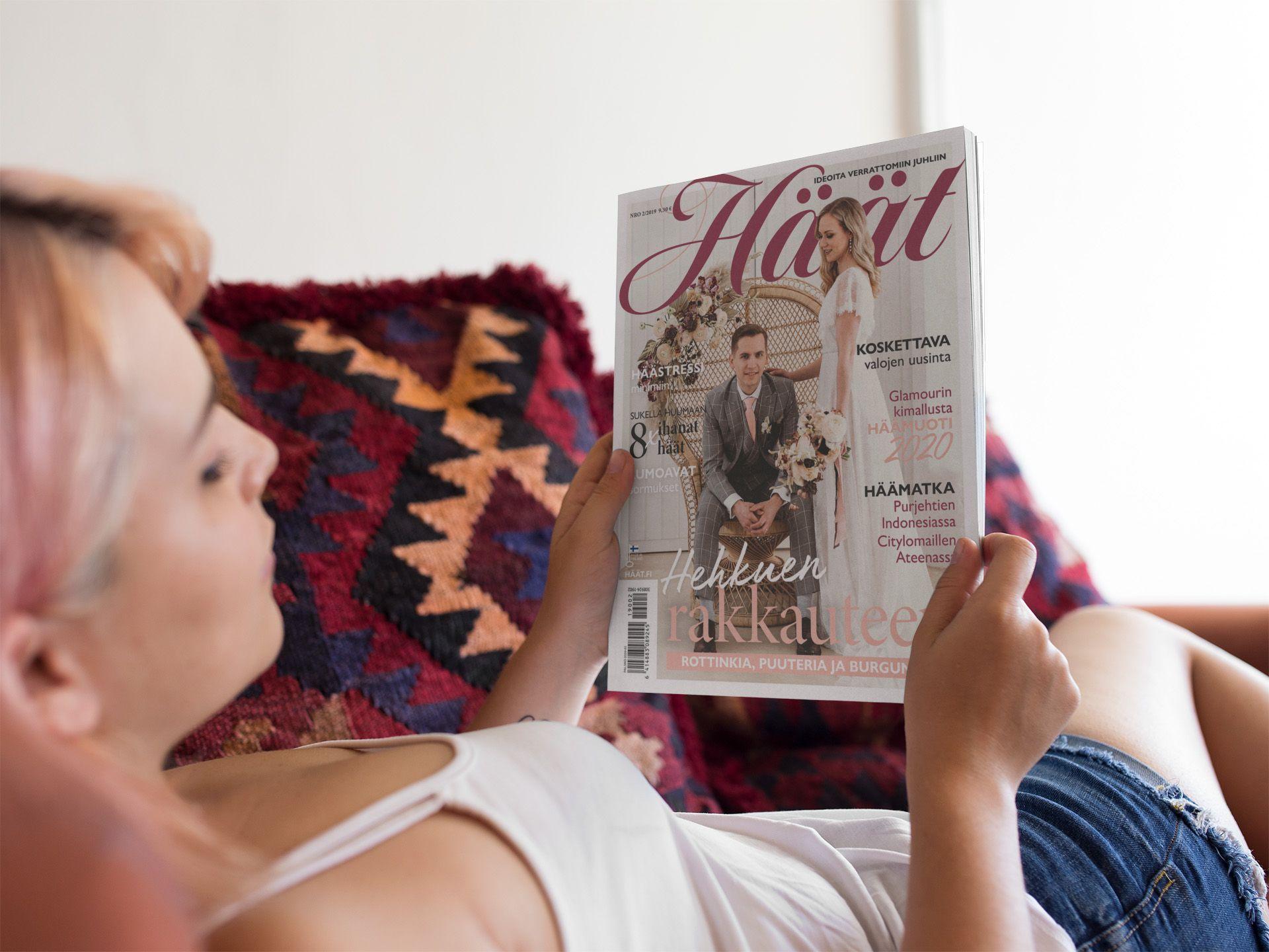 Uusi Häät-lehti ilmestyy lokakuussa 2019