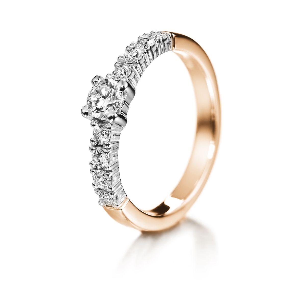 Kultasepät Andreasen Tara timanttisormus