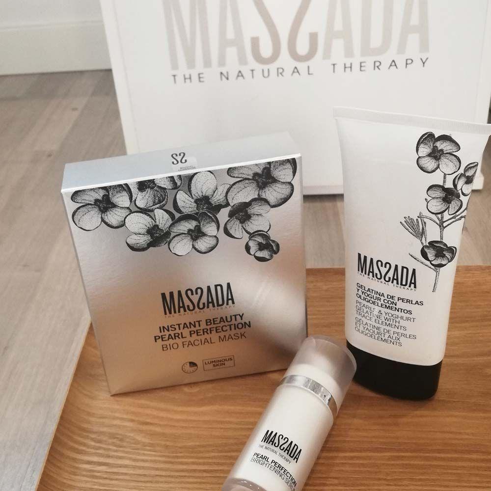 Massada Instant Beauty Pearl Perfection hoito pakkaukset