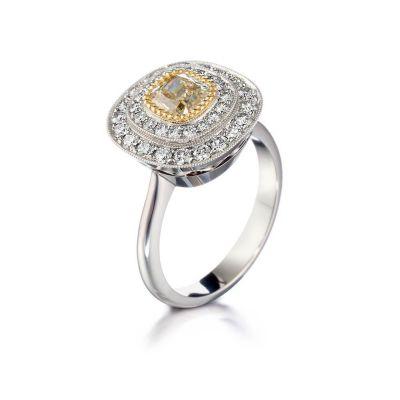 timanttisormus valkokulta Kultaseppä Kulmala