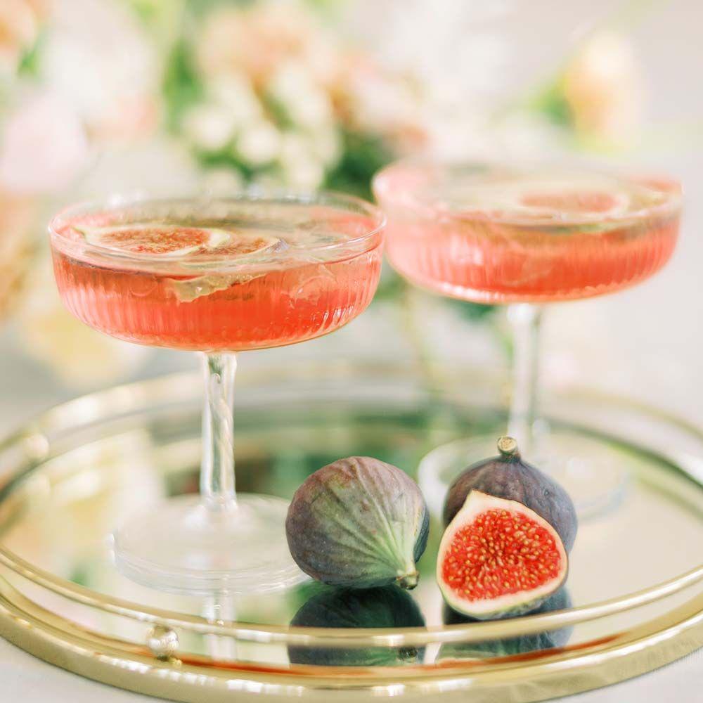 hääcocktail cocktaillasit punainen juoma