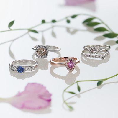 timanttisormuksia Kultasepät Andeasen